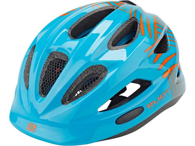 Rudy Project Rocky Helm Kinder blue-orange shiny